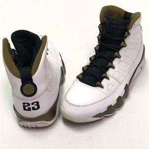 Nike Air Jordan 9 Retro Statue Militia Green Sz 8